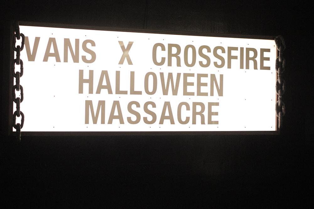 Vans Halloween Massacre