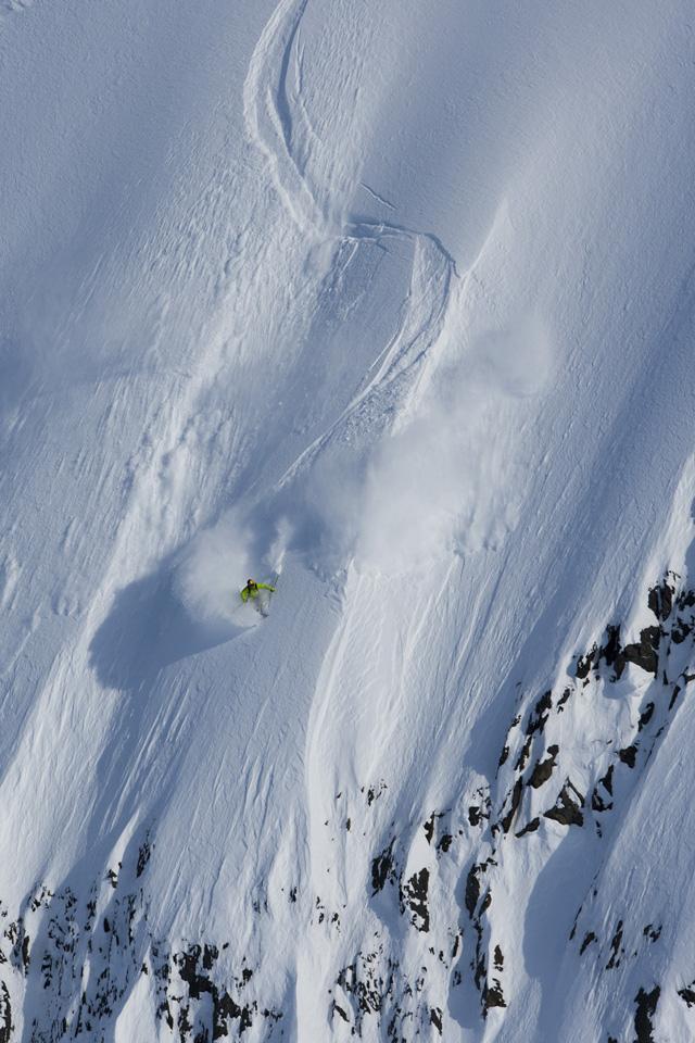 Richard Permin, Girdwood, Alaska photo:Adam Clark