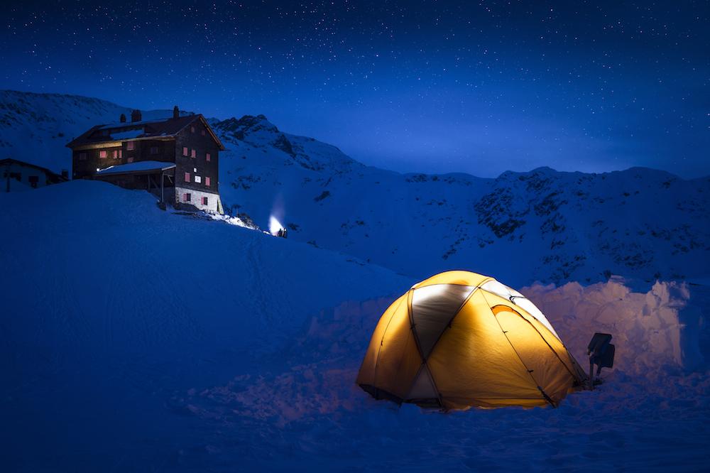 Venue of the Nadine Wallner Offlines in Kloesterle am Arlberg, Austria on February 21st, 2015