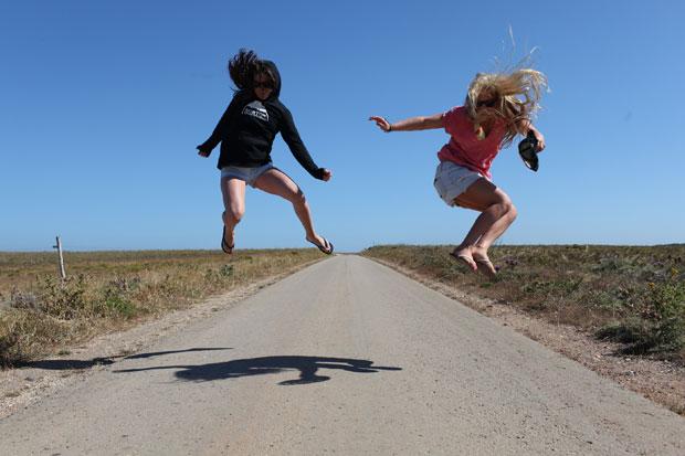 Crazy girls Cilka & Aimee.