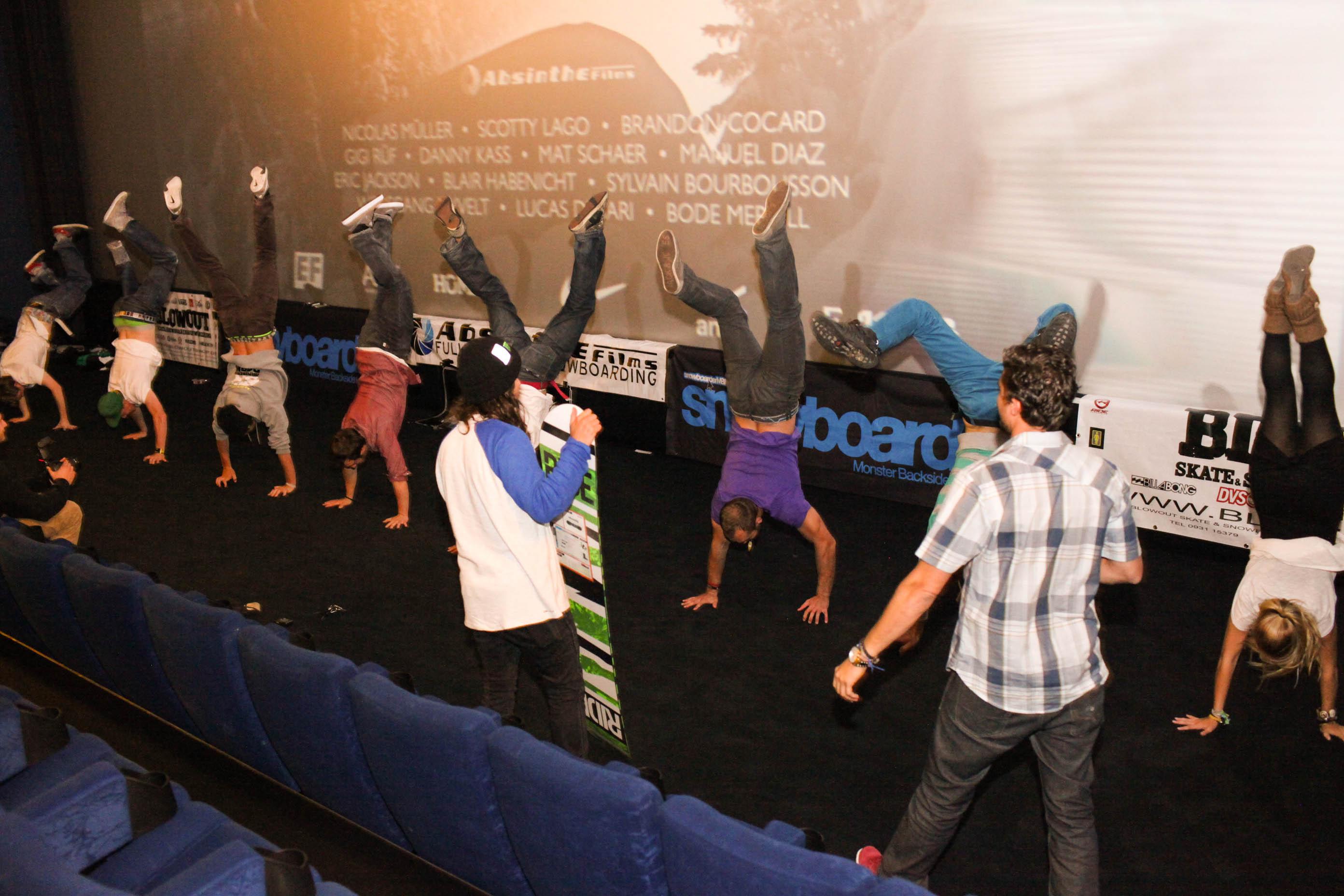 Handstand-Wettbewerb