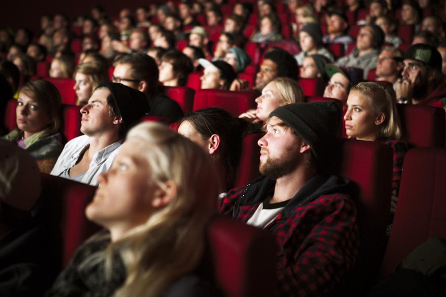 Im ersten Kino war so viel los, dass ein zweiter Saal geöffnet werden musste.