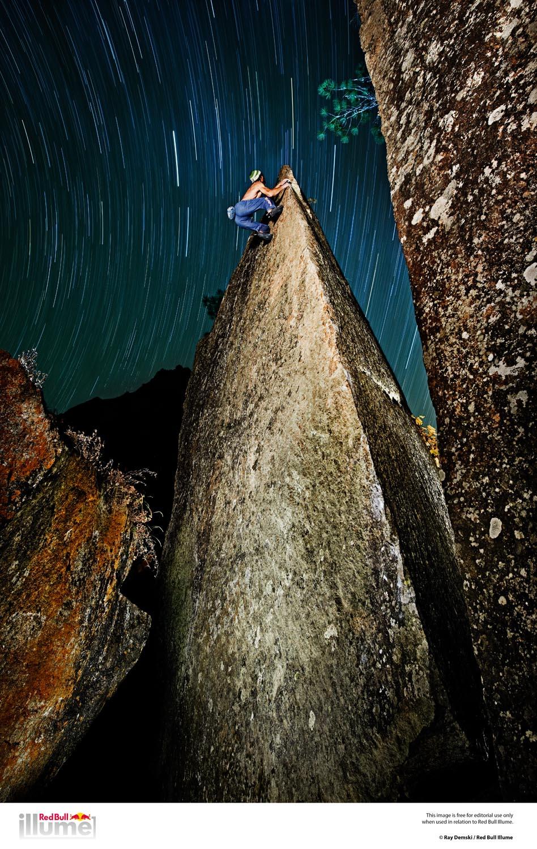 Climber: Bernd Zangerl Boulder: Walking on heavens door