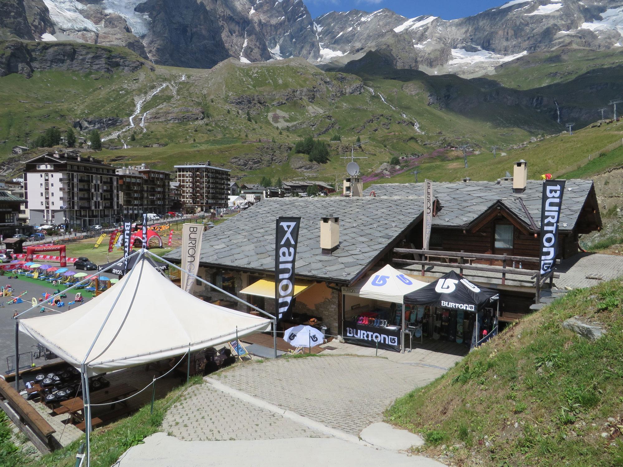 Base camp. Photo: Perly