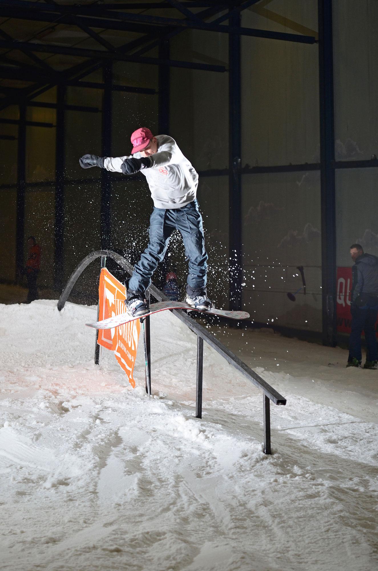 Jean Paul Hendrix. Boardslide. Photo: Jascha vd Wijden