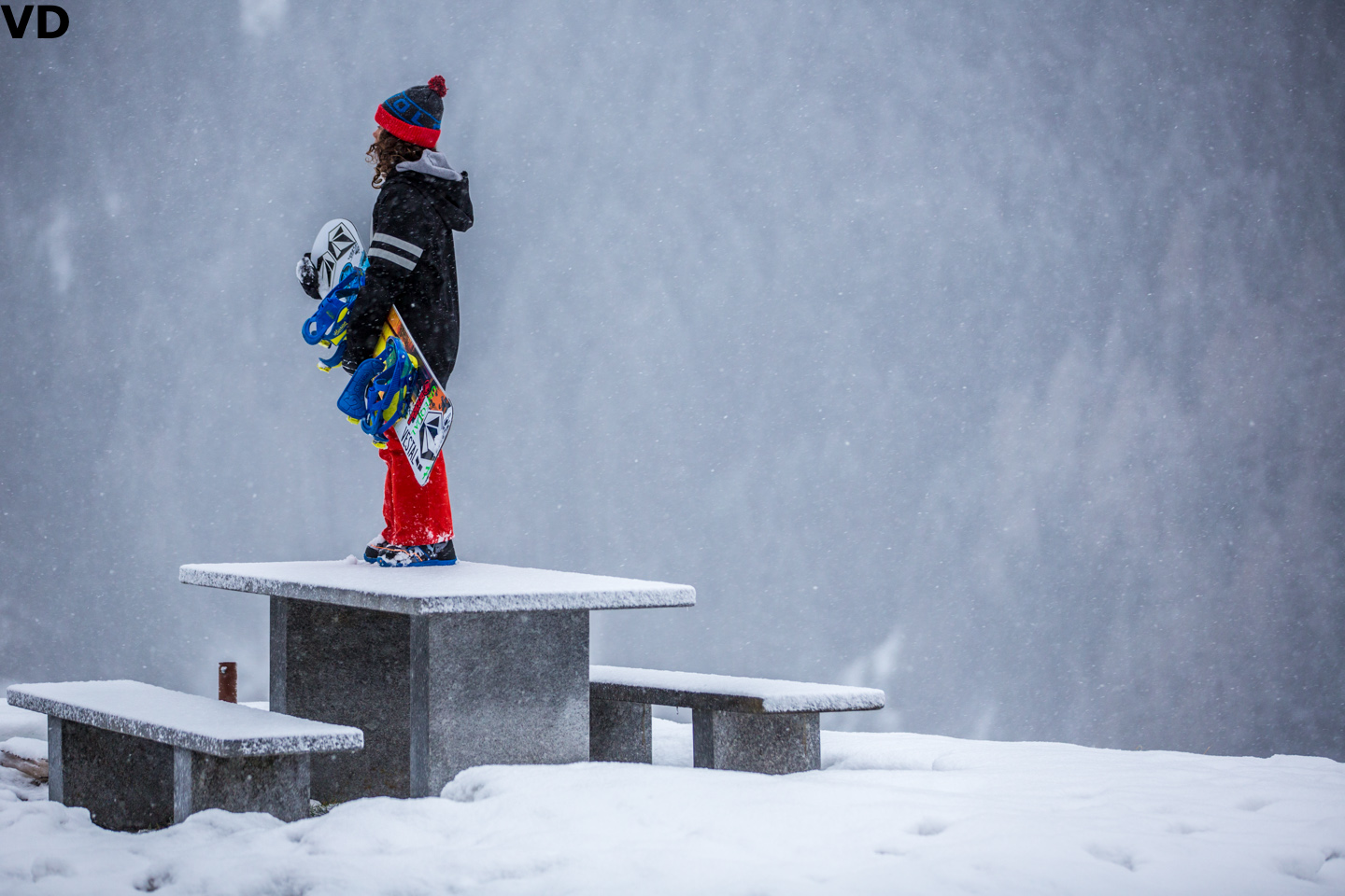 Valentino was left here to ponder his existence. Photo: Vernon Deck