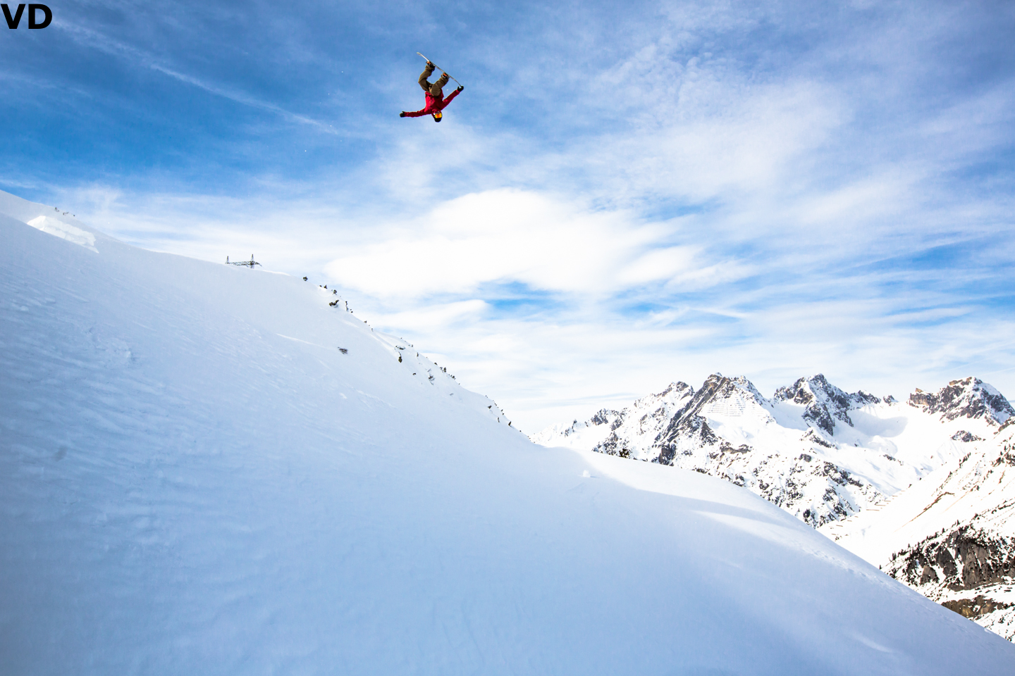 Torgeir Bergrem with a super corked frontside 5. Photo: Vernon Deck
