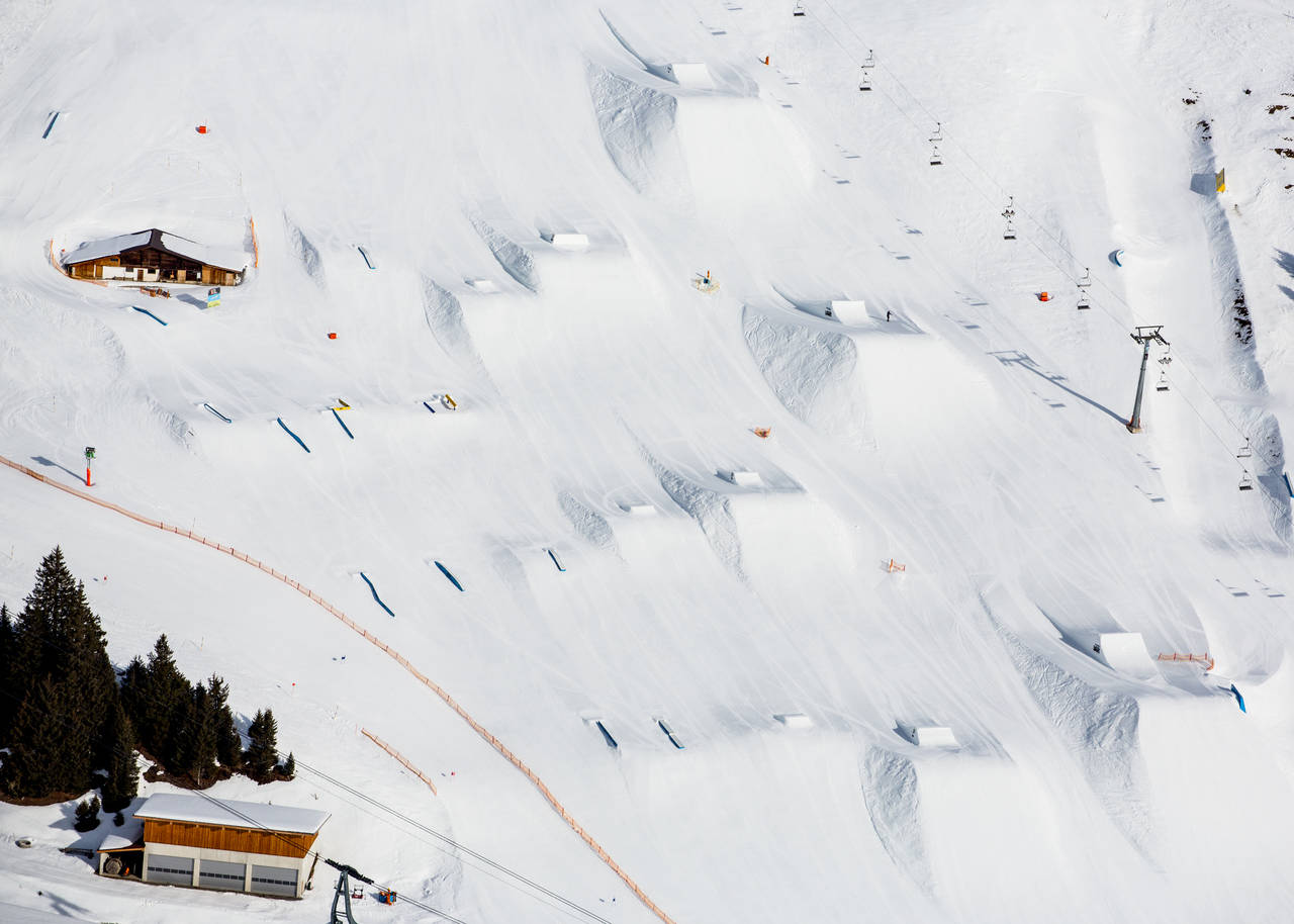 Which line would you hit first? Photo: Patrick Steiner