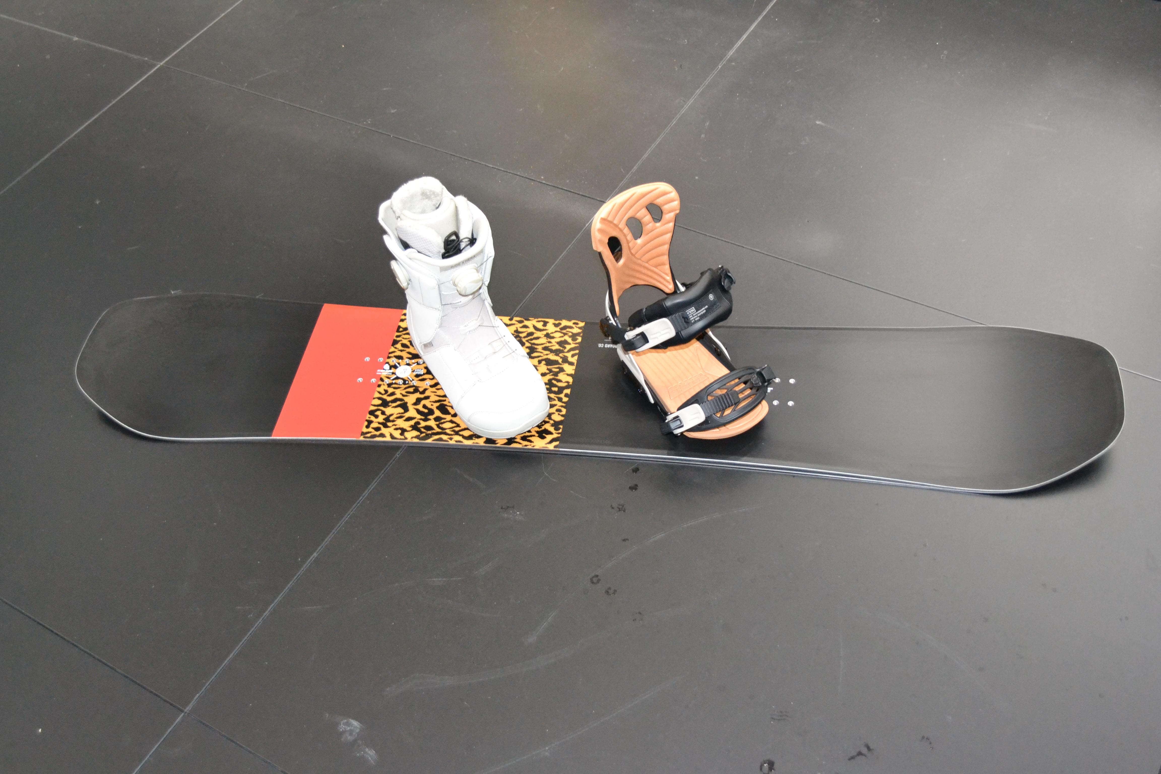 OMG Snowboard, VXN Bindung, Hera Boot