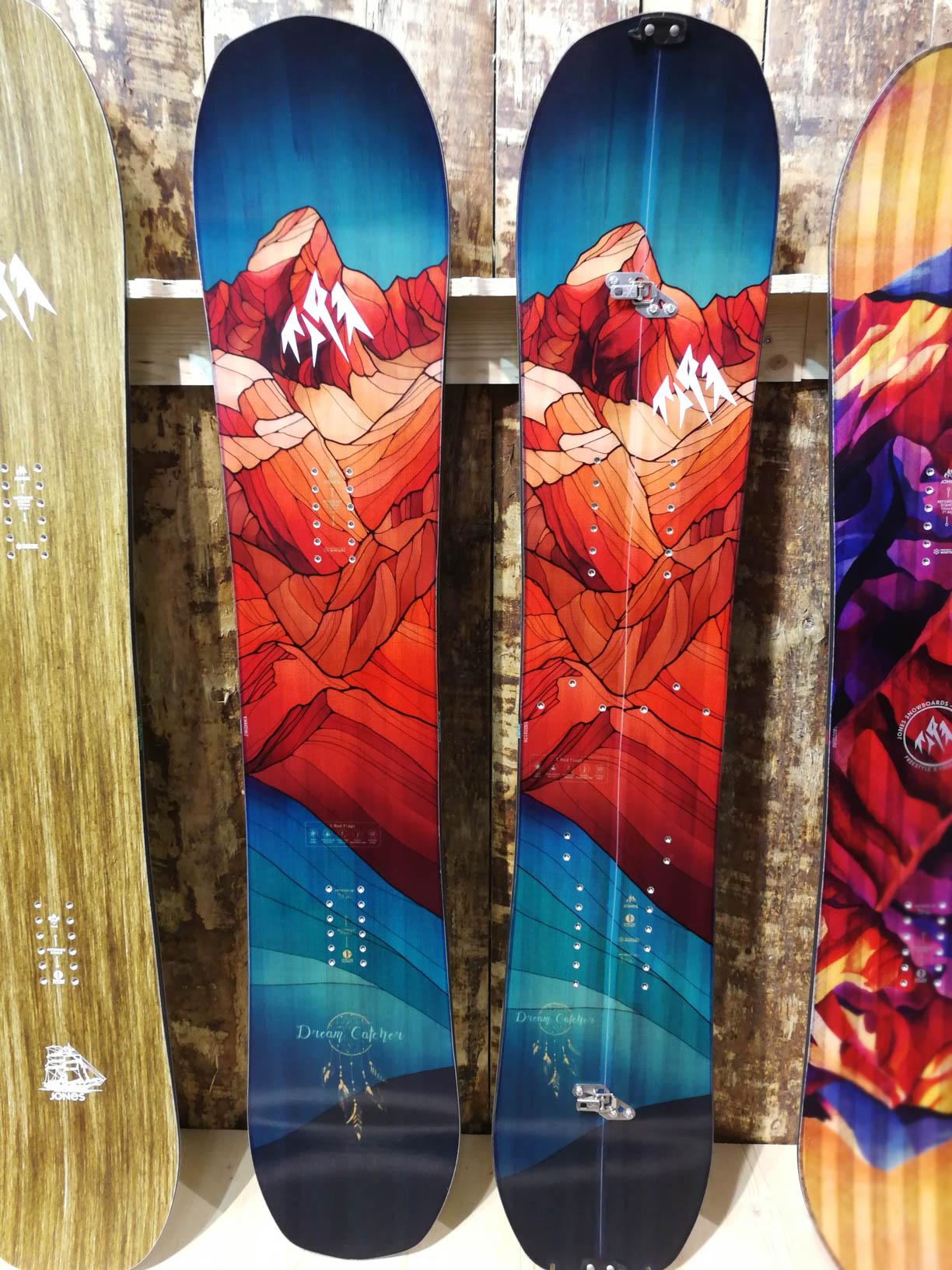 Jones Snowboards 18/19: Dream Catcher und Dream Catcher Split für die Girls