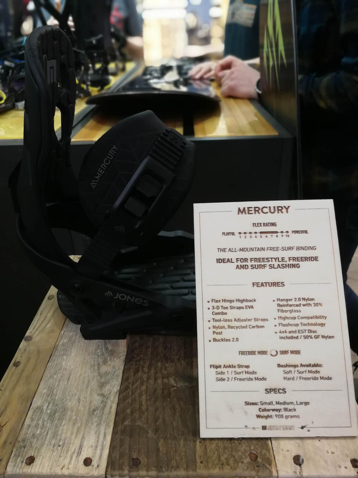 Neue Bindung von Jones Snowboards - Mercury 18/19