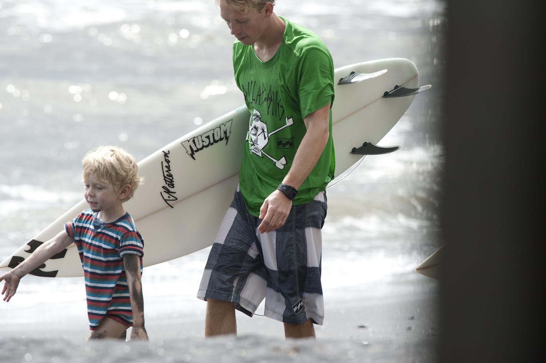 Tim mit seinem Sohnemann