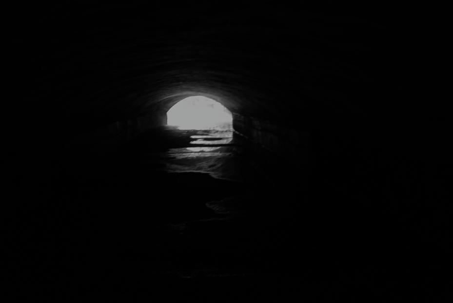 am Ende des Tunnels gibt es Licht- der Eisbach