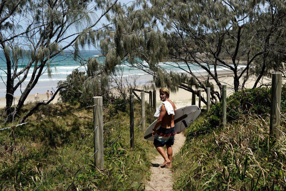 Ist die Sunshine Coast Flat, ist Alexandria Bay in Noosa die einzige Option. Nachteil: auch der einzige Strand mit FKK Gebot