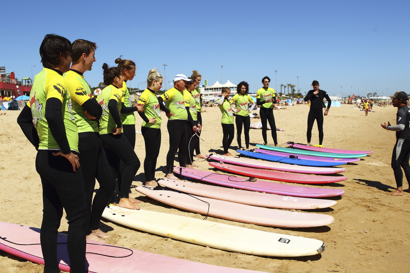 Surfkurs in Guincho Beach