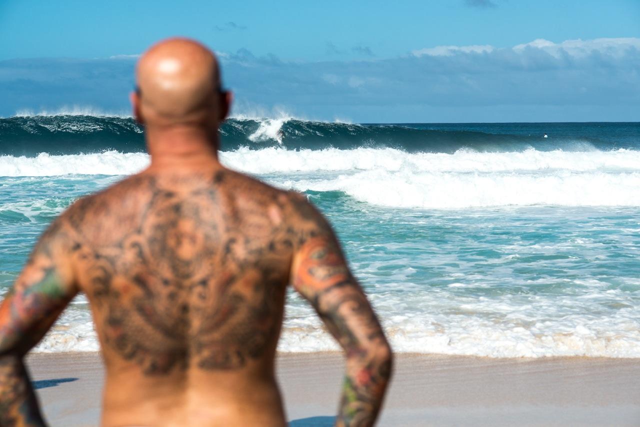 Tattoos in allen Formen und Farben sind hier zu bestaunen