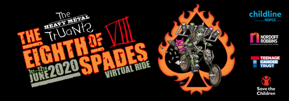 HMT 2020: The Eighth of Spades - Virtual Ride