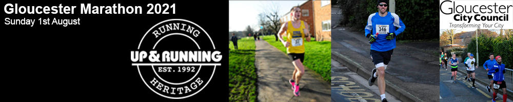 Gloucester Marathon 2021 - CANCELLED