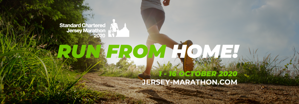 Standard Chartered Jersey Marathon - Run From Home
