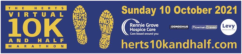 Herts Virtual 10k & Half Marathon Event 2021