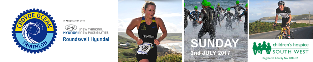 Croyde Ocean Triathlon 2017 in association with Roundswell Hyundai