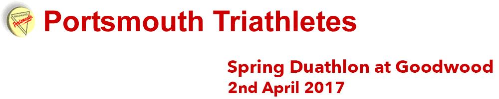 Portsmouth Triathletes Spring Duathlon at Goodwood