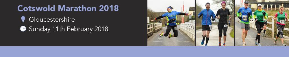 Cotswold Marathon 2018