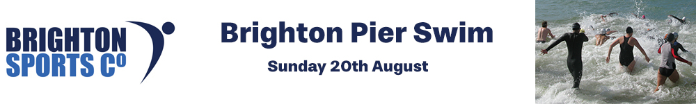Brighton Pier Swim 2017
