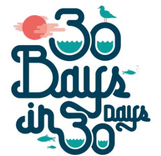 30 Bays in 30 Days 2017