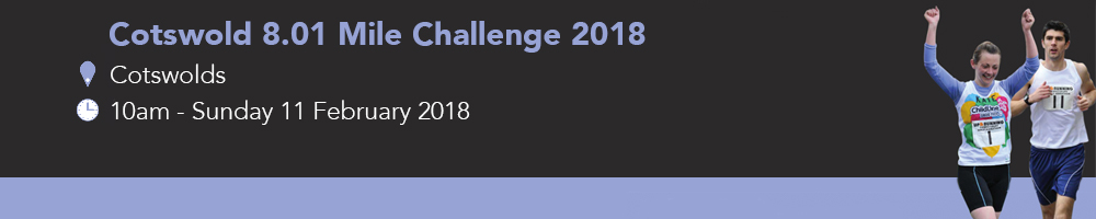 Cotswold 8.01 Mile Challenge 2018