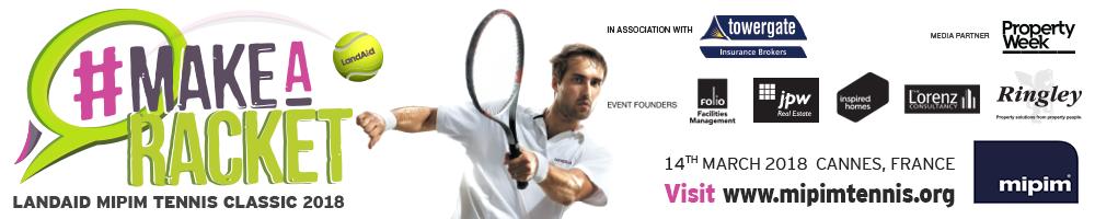 LandAid MIPIM Tennis Classic 2018 Spectator Entry