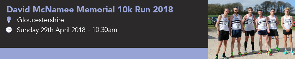 David McNamee Memorial 10km Run 2018