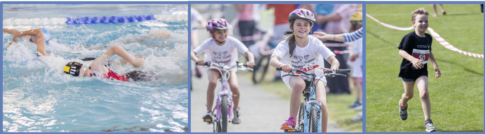 Vistra Bloodwise Jersey Kids' Triathlon 2019