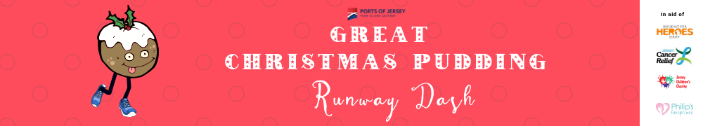 Great Christmas Pudding Runway Dash 2018