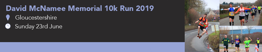 David McNamee Memorial 10km Run 2019