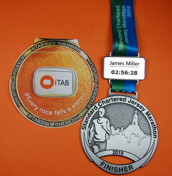 iTab Personalised Medal
