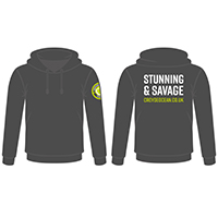 Chunky hoody with Croyde Ocean Logo