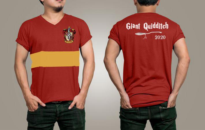 Cerf Giant Quidditch t-shirt