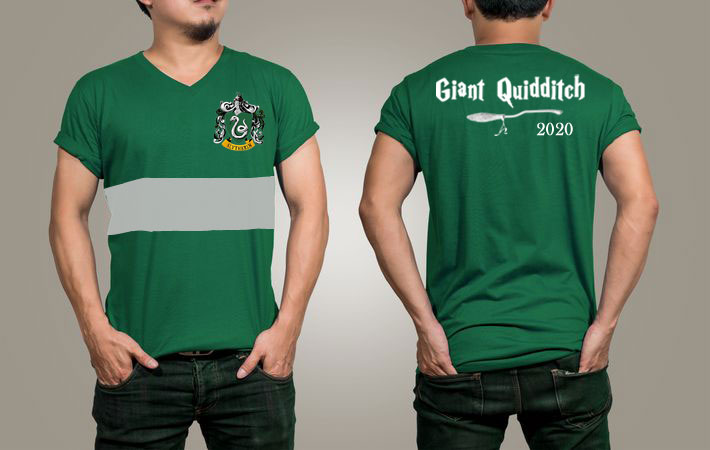 Rocqueberg Giant Quidditch t-shirt