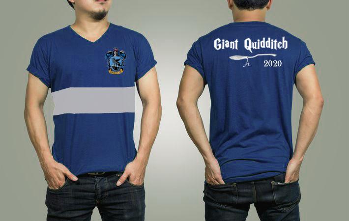 Demoiselle Giant Quidditch t-shirt
