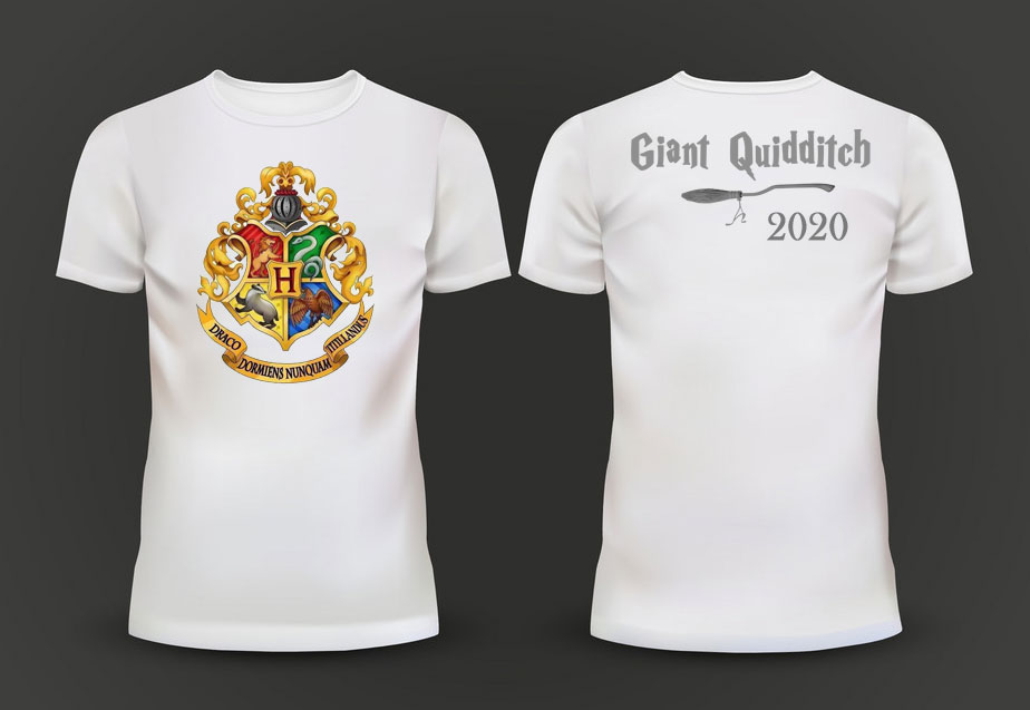 Tourgis Giant Quidditch t-shirt