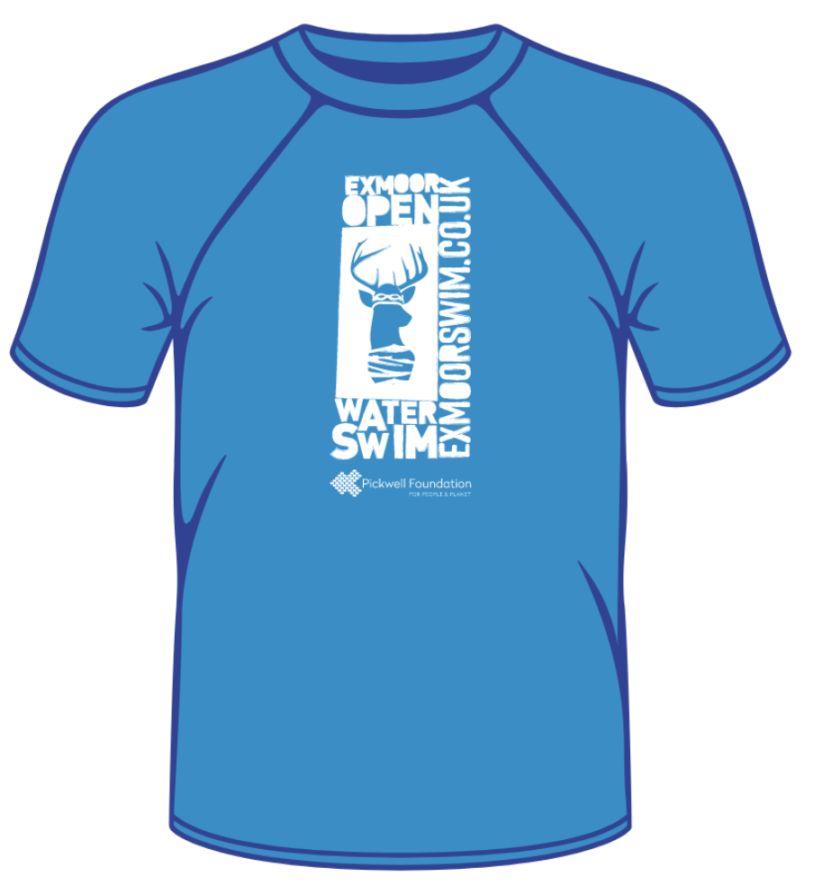 Technical T-shirt - Exmoor Open Water Swim
