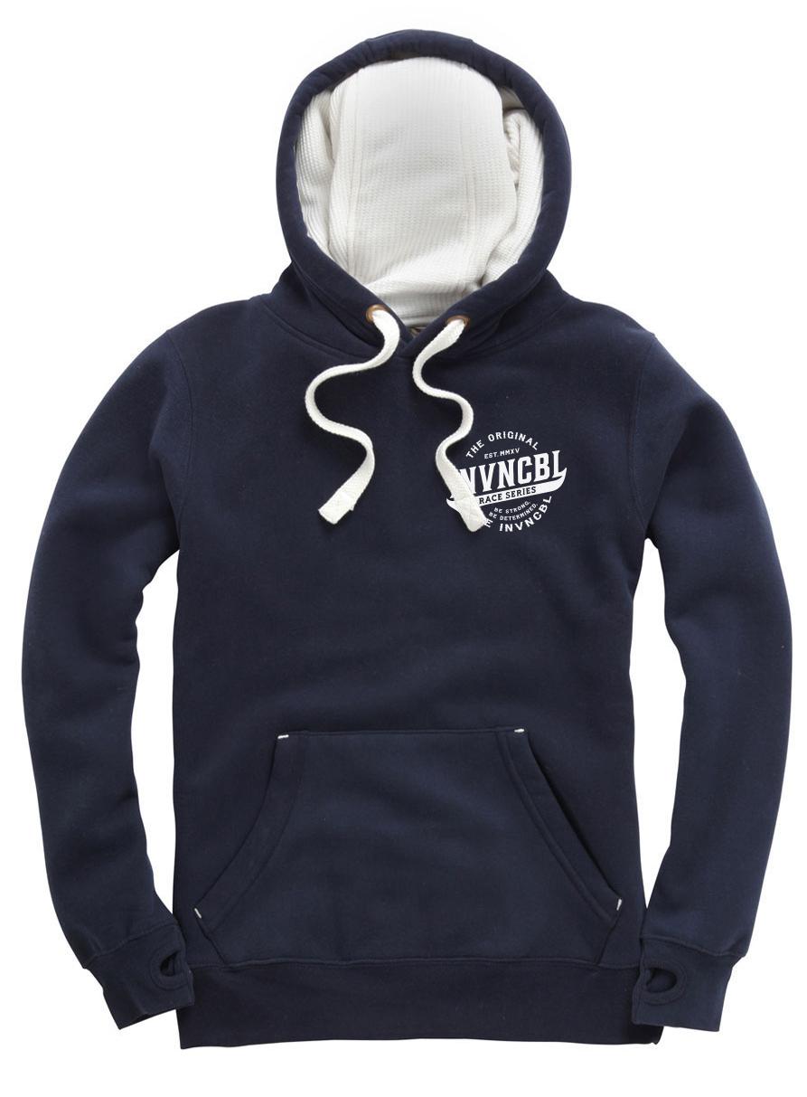 INVNCBL Hoodie -Navy Small Logo