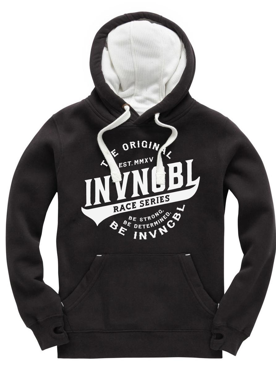 INVNCBL Hoodie - Black Large Logo