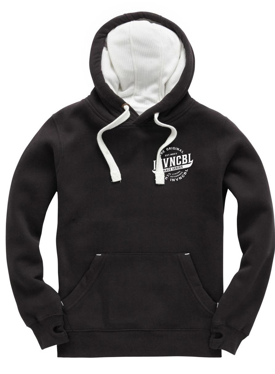 INVNCBL Hoodie - Black Small Logo