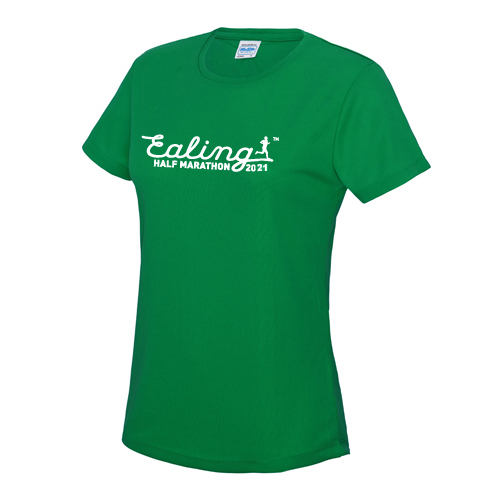 Ealing Half Green T-Shirt - Female (inc UK p&p)