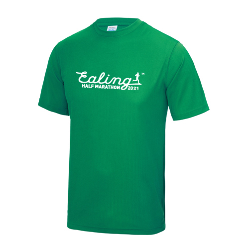 Ealing Half Green T-Shirt - Male (inc UK p&p)