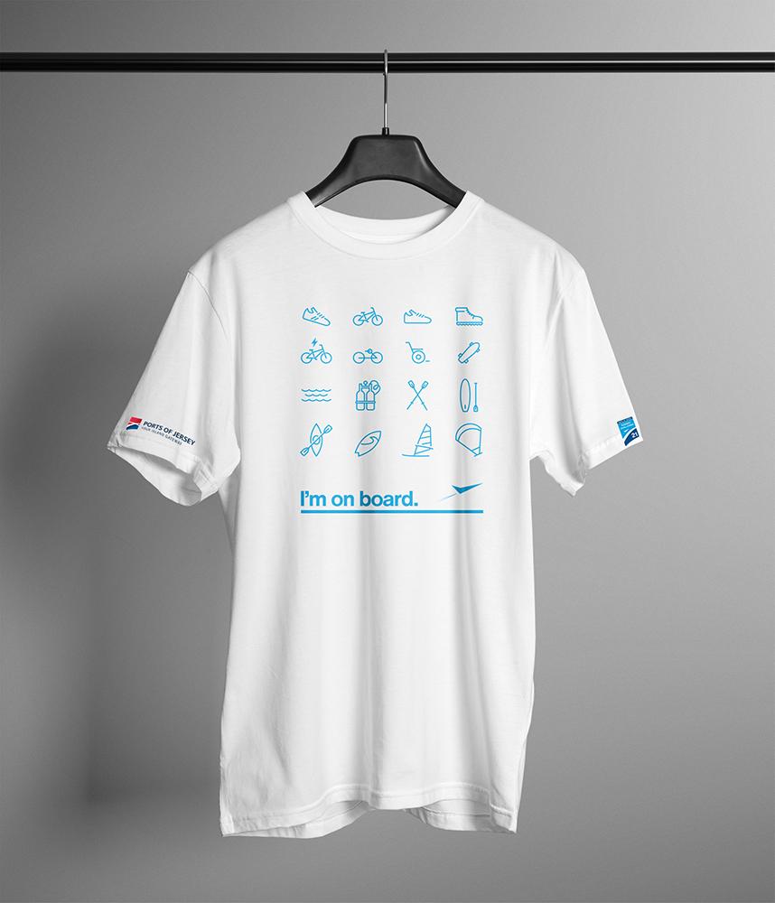 Official Event T-shirt inc Jersey / Guernsey / UK / EU postage