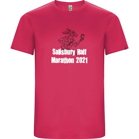 Salisbury Half Marathon 2021 T-shirt Inc P+P