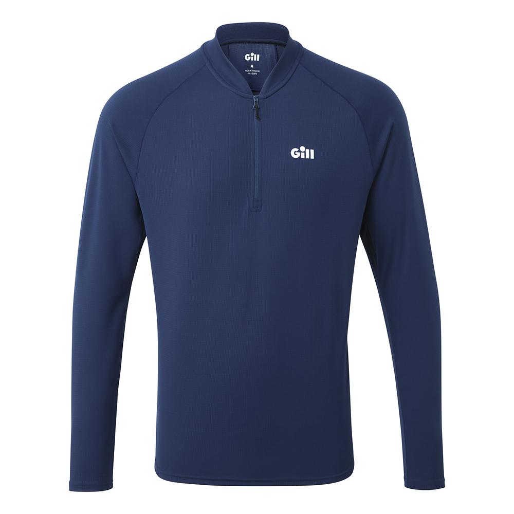 Men's Millbrook Zip Tee - Branded